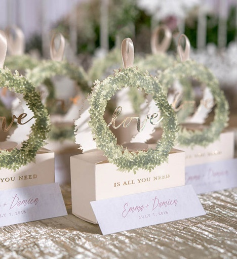 Fabulous D.I.Y. trouwbedankjes maken voor je bruiloft | Weddingdeco.nl &TL55
