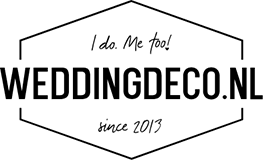 Katerwater trouwbedankje Krijtbord logo