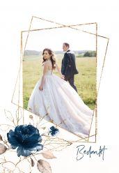 Elegance breeze bedankkaart staand enkel met foto