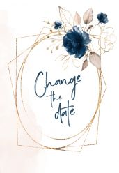 Elegance breeze change the date kaart staand enkel