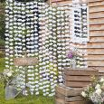 Backdrop bloemen wit Rustic Country Ginger Ray