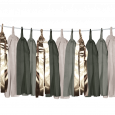 Tasselslinger olijf (3m) Delight Department