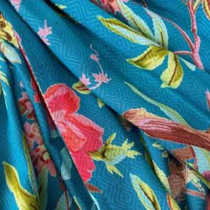 Kimono Royal Paradise Petrol