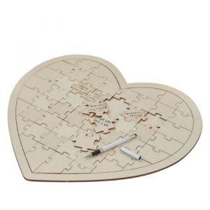 Gastenboek puzzel hart Boho Ginger Ray
