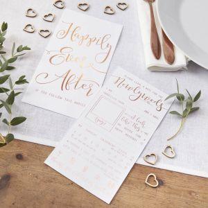 Wedding Wishes roségoud (10st) Beautiful Botanics
