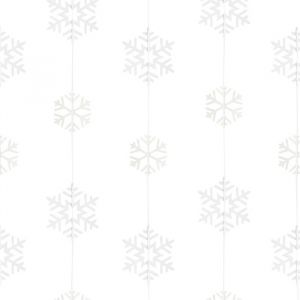Slinger sneeuwvlokken Rustic Christmas