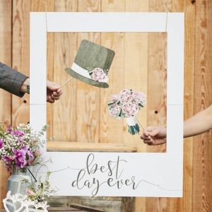 Fotoframe Best Day Ever Rustic Country