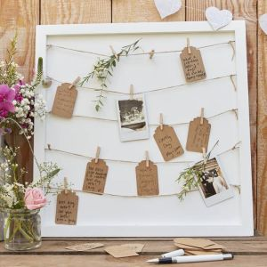 Houten gastenbord Rustic Country