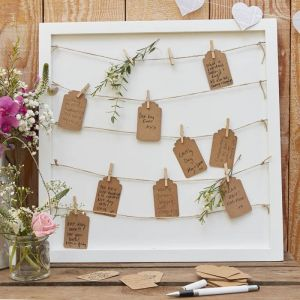 Houten gastenbord Rustic Country Ginger Ray