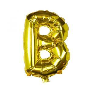 Folieballon Letter en Cijfer Goud 40cm