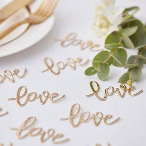 Tafelconfetti Gold Wedding Ginger Ray