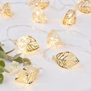 Lichtslinger blaadjes 1,5 meter Gold Wedding Ginger Ray