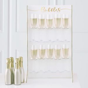 Prosecco standaard Gold Wedding Ginger Ray
