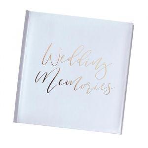 Fotoalbum Wedding Memories Gold Wedding Ginger Ray