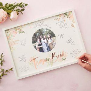 Team Bride fotolijst Floral Hen Party Ginger Ray