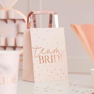 Tasjes Team Bride Blush Hen (5st) Ginger Ray