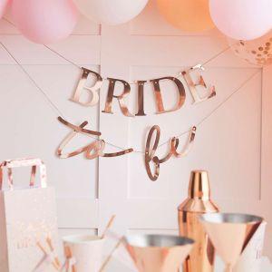 Slinger rosé Bride to be Blush Hen Ginger Ray