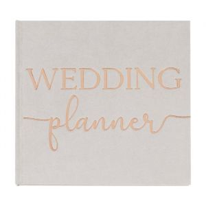Weddingplanner Suede grijs Botanical Wedding Ginger Ray