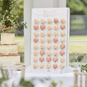 Macaron Wall Botanical Wedding Ginger Ray