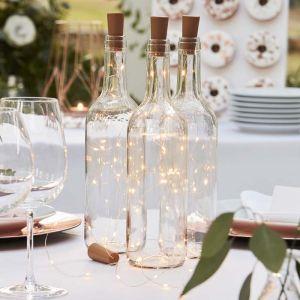 Sfeerlicht voor wijnfles (3 st) Botanical Wedding Ginger Ray