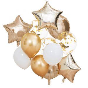 Ballonnenmix goud Mix It Up (12st) Ginger Ray