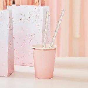 Papieren rietjes Pastel Mix It Up (20 st) Ginger Ray