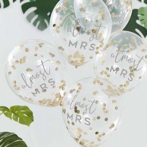 Confetti ballonnen Botanical Hen (5st) Ginger Ray