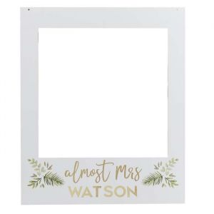 Photobooth Frame en letter stickers Botanical Hen Ginger Ray