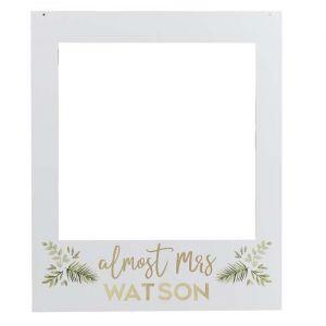 Photobooth Frame en letter stickers Botanical Hen Ginger Ray