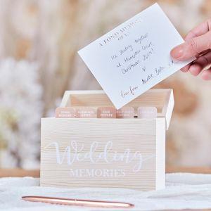 Alternatief gastenboek Wedding Memories A Touch of Pampas