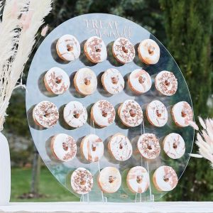Donut wall Treat Yourself acryl A Touch of Pampas Ginger Ray