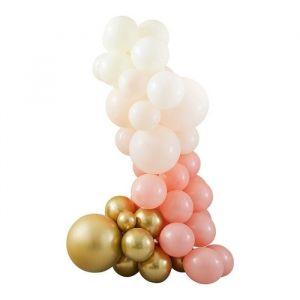 Ballonnenboog Gold & Peach Mix it Up Peach Ginger Ray