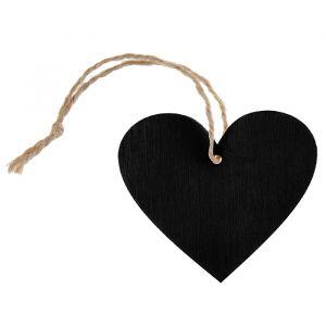 Labels hart krijtbord (4st)