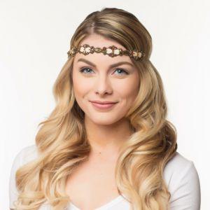 Haarband Missy goud