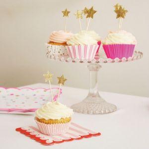 Cupcake set Toot Sweet roze