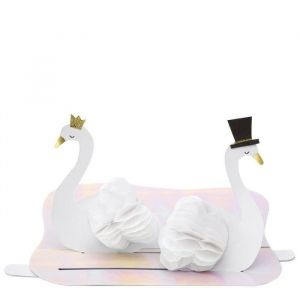 Wenskaart Swan Wedding Couple Meri Meri