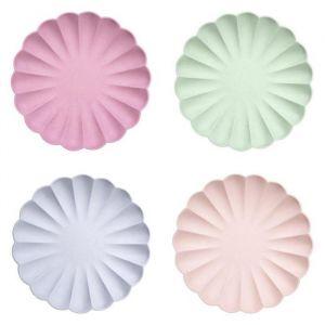 Borden Simply Eco kleuren (8st) mix Meri Meri