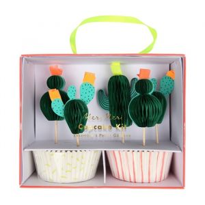 Cupcake set Cactus Meri Meri
