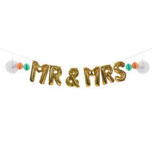 Slinger Folieballon Mr & Mrs Meri Meri