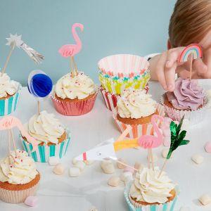 Cupcake Kit Flamingo Meri Meri