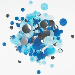 Confetti mix Blauw