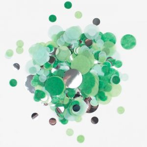 Confetti mix Groen