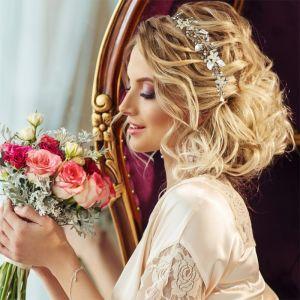 Haarsieraad Crystal Elegance roségoud