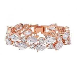 Armband Crystal Roségoud