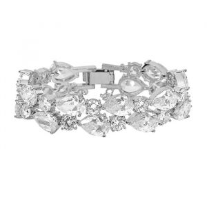 Armband Crystal Zilver