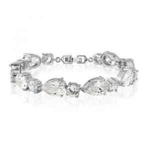 Armband Classic Crystal Zilver
