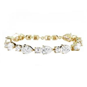 Armband Classic Crystal Goud
