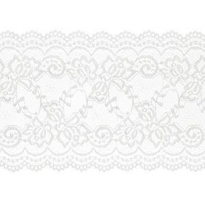 Kant op rol wit 15cm x 9m