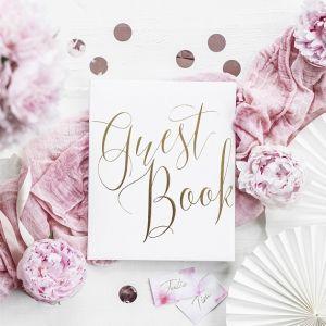 Gastenboek White & Gold