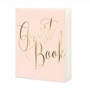 Gastenboek Pink & Gold